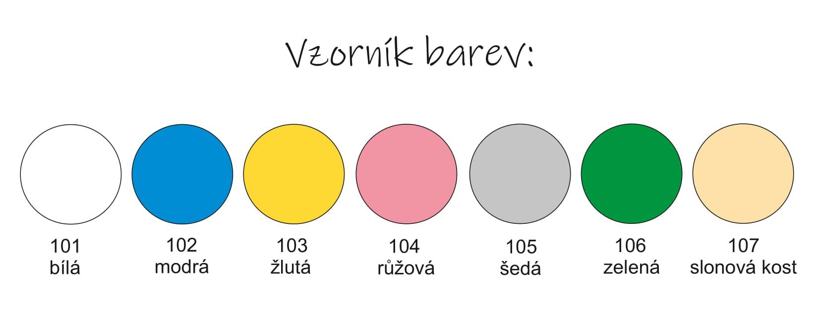 Představujeme vám nový vzorník barev 2021