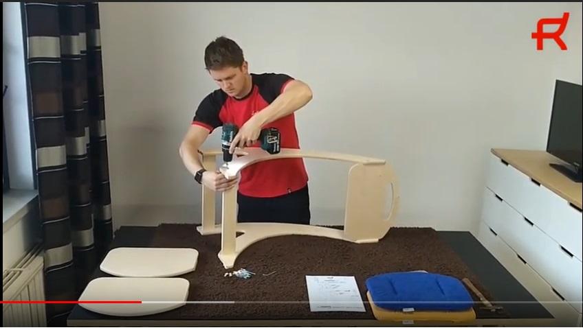 Video návod montáže rostoucí židličky na YOUTUBE