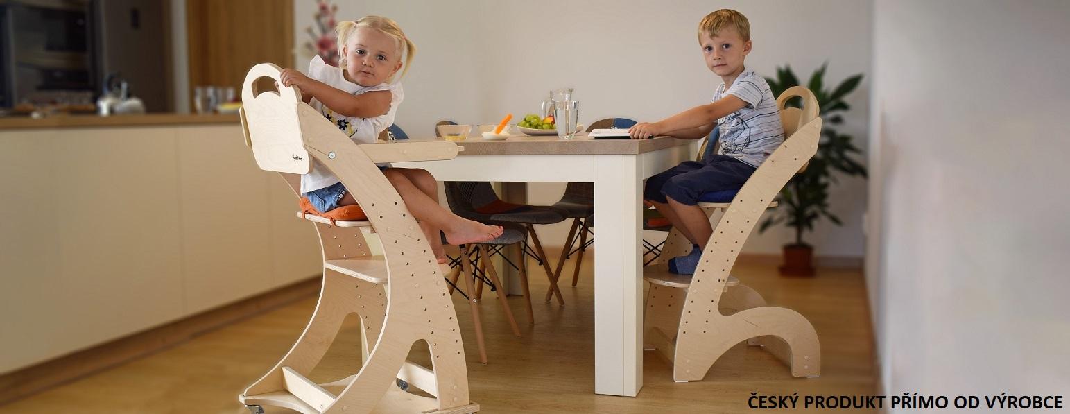 rostoucí židle přímo od výrobce Hyrak Design