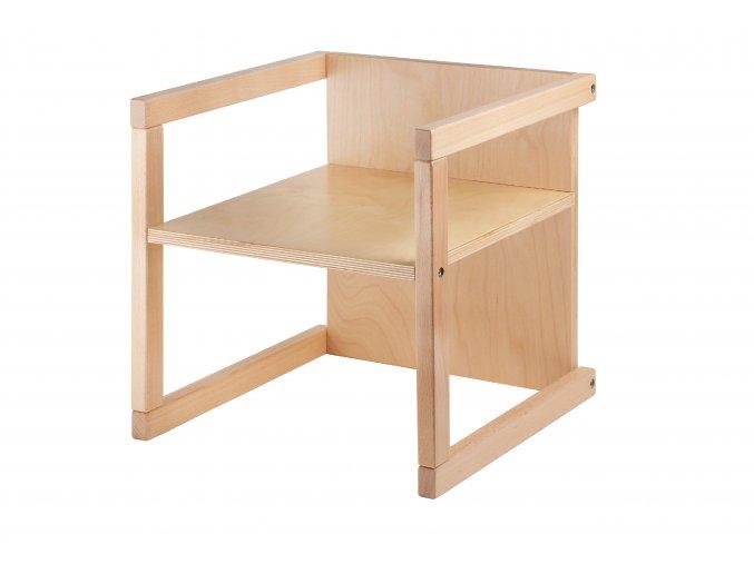 Dětská židle WENDY 3v1 lak V