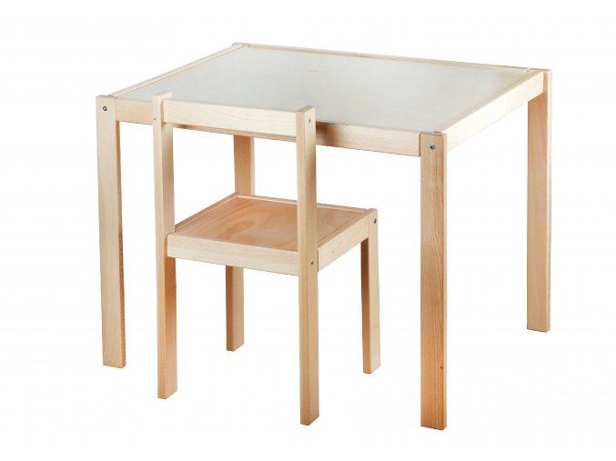 Tisch und Stuhl natur II