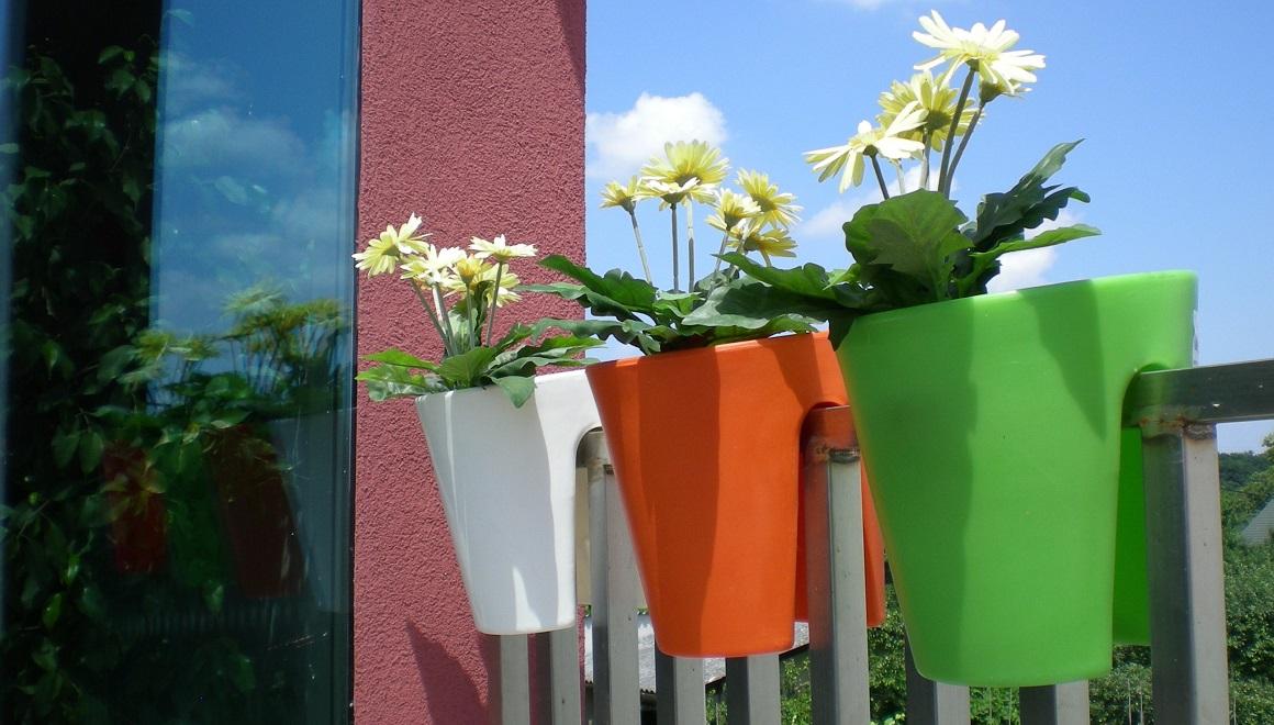 Zahradní květináče