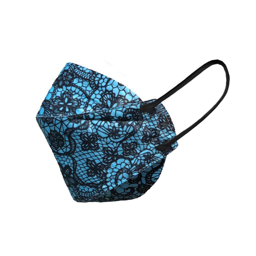 Zdravotnický 3D Nano respirátor BALERINA® FFP2 PFHM931 - Modro-černý vzor