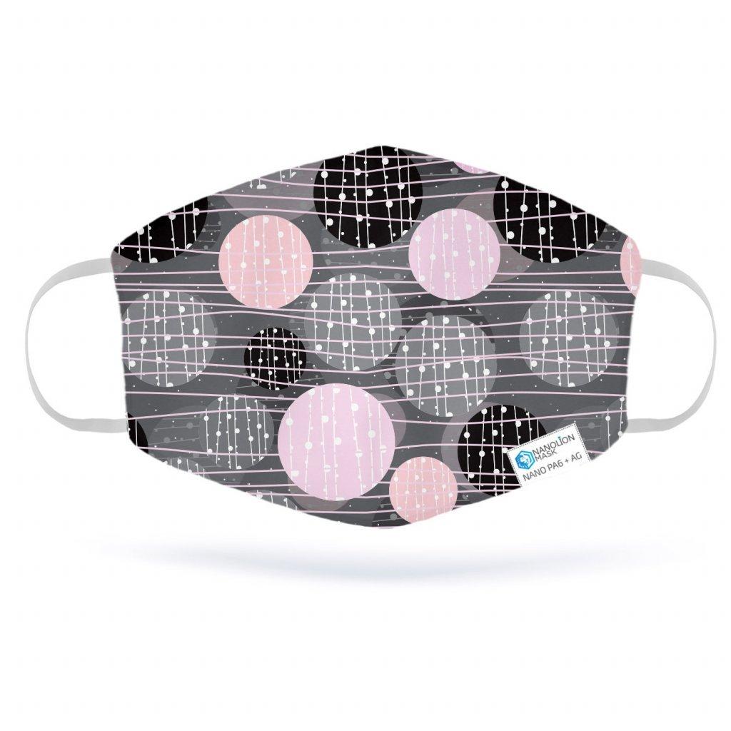 2243 1 abstract pink circles