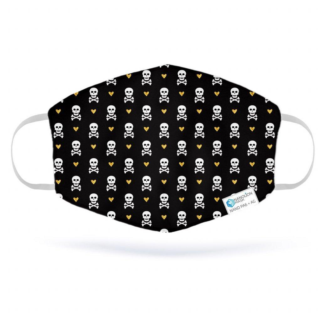 2870 1 love skull