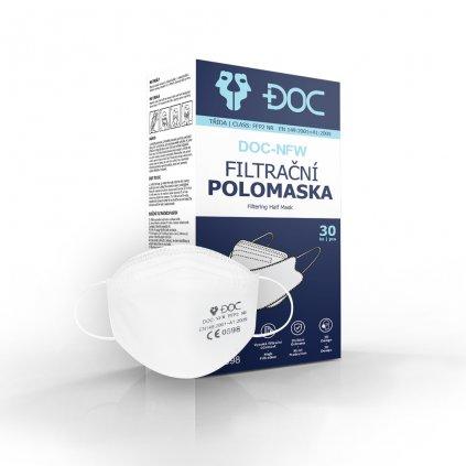 box final doc ffp2 white