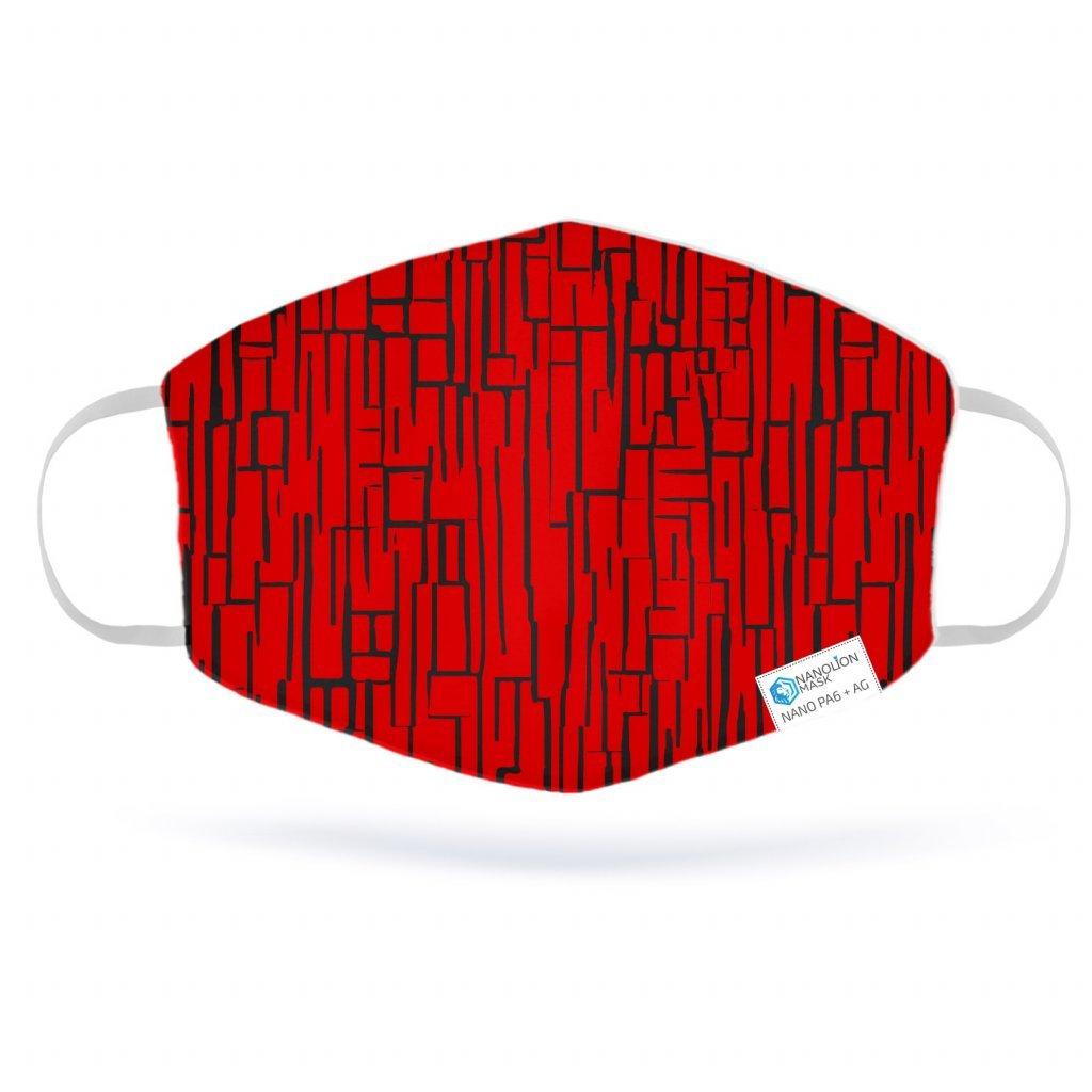 3065 black lines red