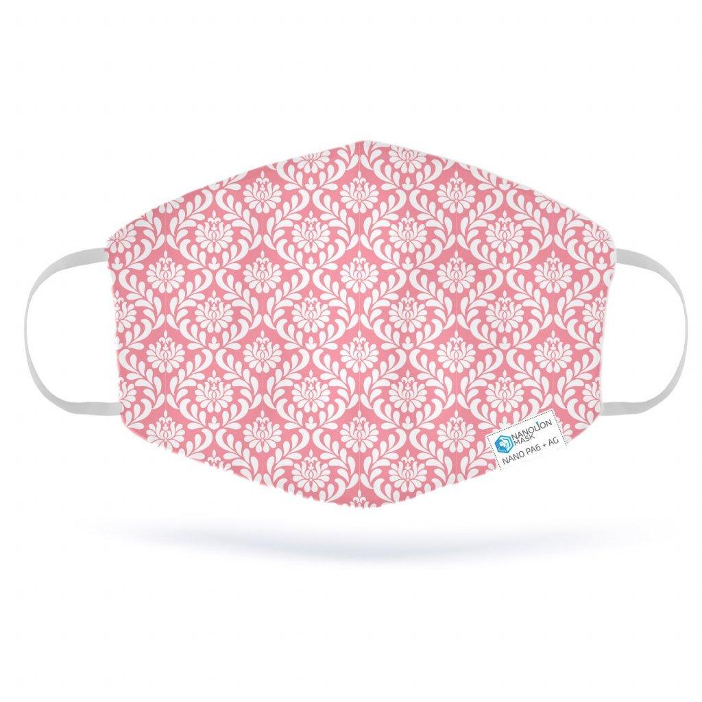 2930 pink damask
