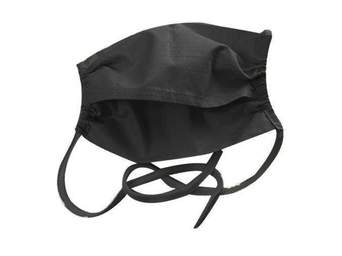 Rouška s kapsou č.21 Černá