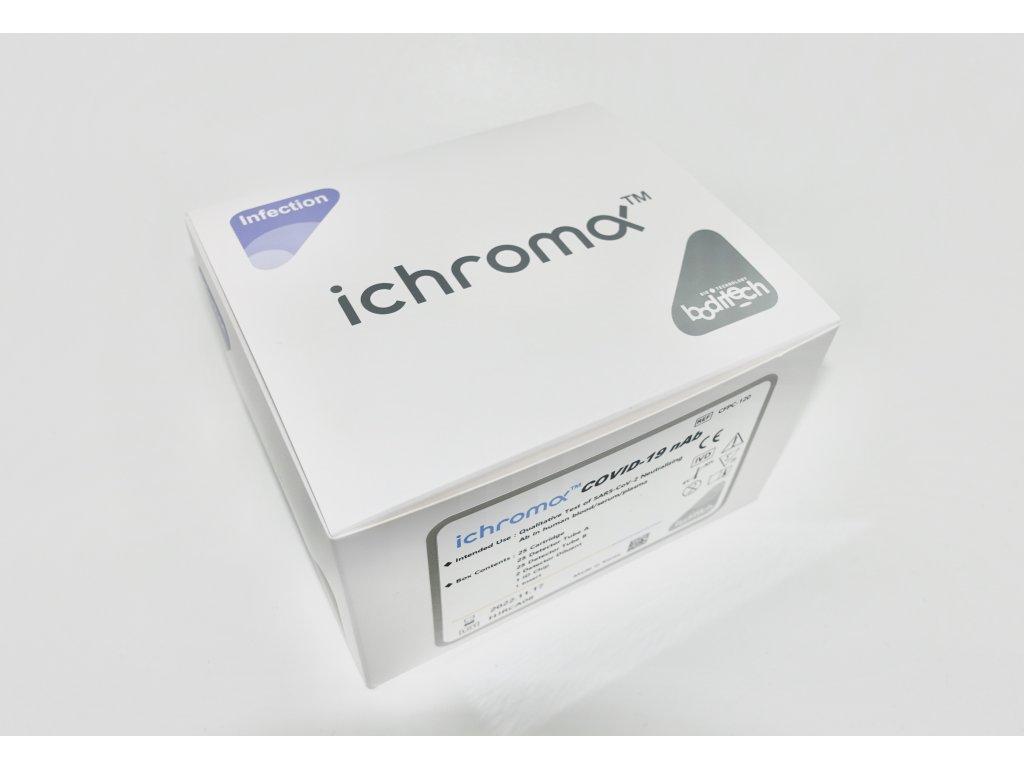 25 ks testů COVID-19 nAb pro ICHROMA II. - Protilátky po očkování