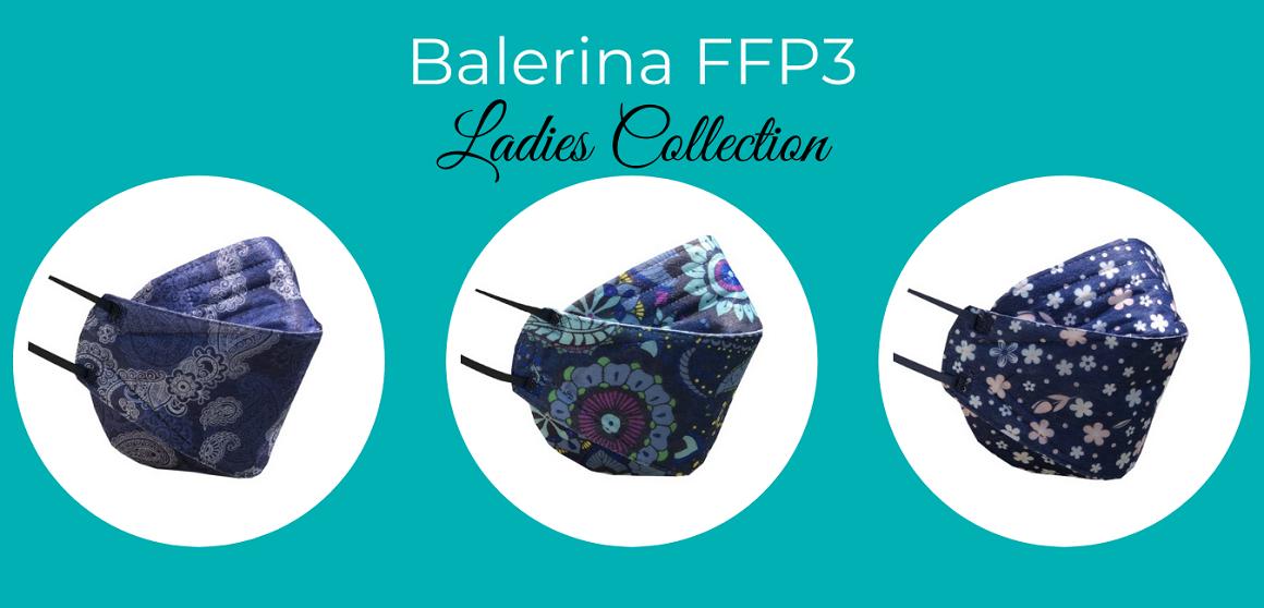 Respirátory Balerina FFP3