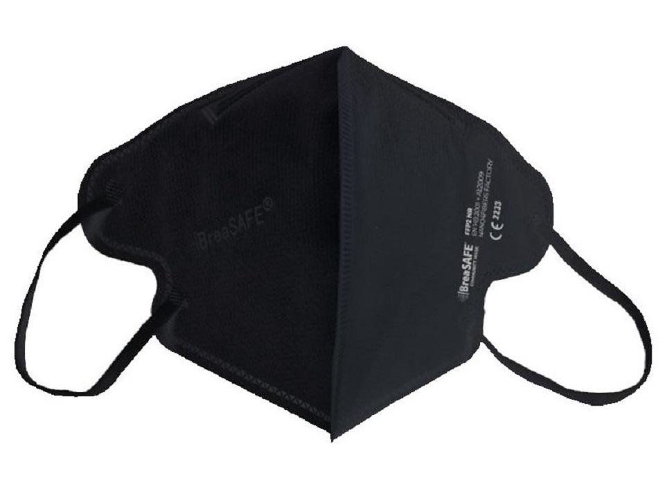 Breasafe-community-mask-ffp2-černý