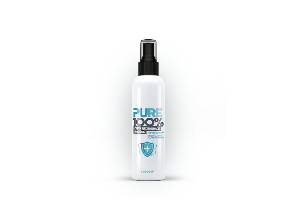 Dezinfekce na roušky a respirátory Nanolab Pure100