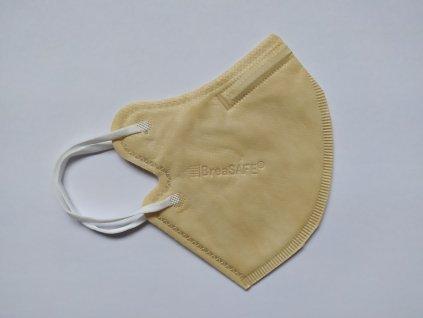 BreaSafe Community Mask FFP2 béžový