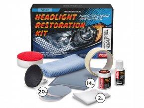 súprava na renováciu svetlometov Rowax Plus