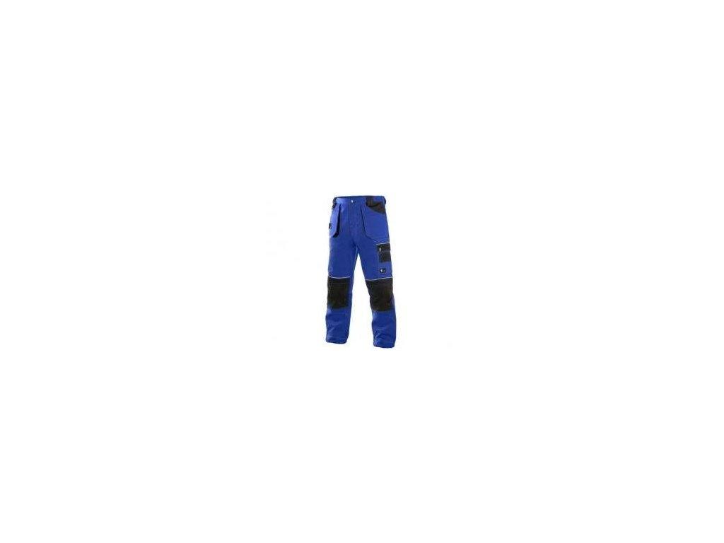 Kalhoty do pasu ORION TEODOR, pánské, černo-modré