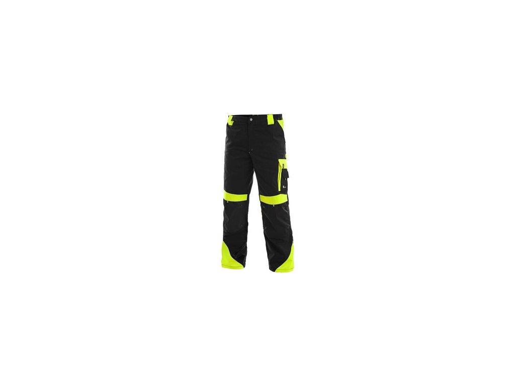 Kalhoty do pasu SIRIUS BRIGHTON, zimní, pánské, černo-žluté