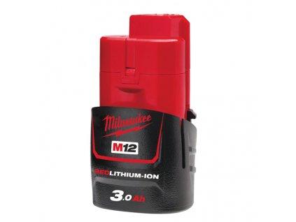 Milwaukee M12 B3, 3,0Ah akumulátor