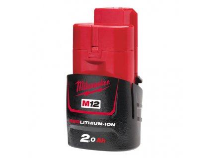Milwaukee M12 B2, 2,0 Ah akumulátor