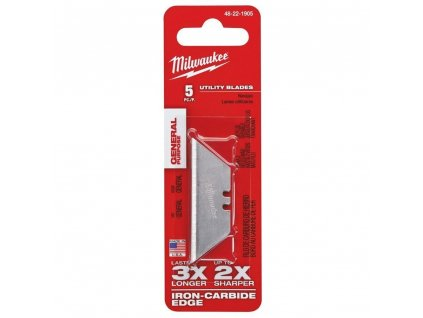 Milwaukee náhradní nože GP utility blades - 5ks
