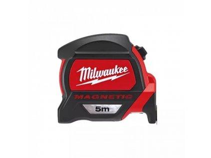 Milwaukee měřící pásmo PREMIUM MAGNETIC 5m (metrické)
