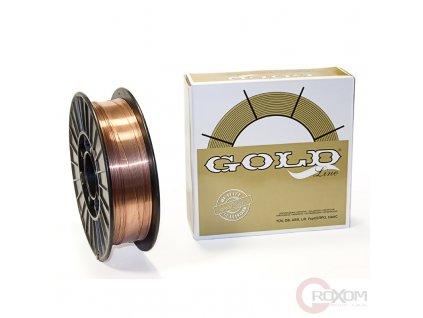 Svařovací drát GOLD G3Si1 - 0,6 mm (cívka 1 kg)