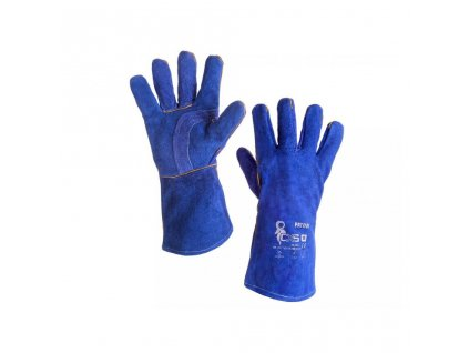 Svařovací rukavice PATON modré, vel. 11