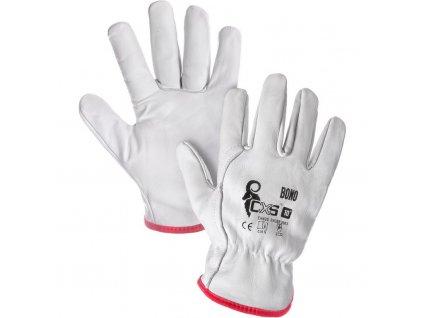 """Kožené pracovní rukavice BONO, 8"""""""