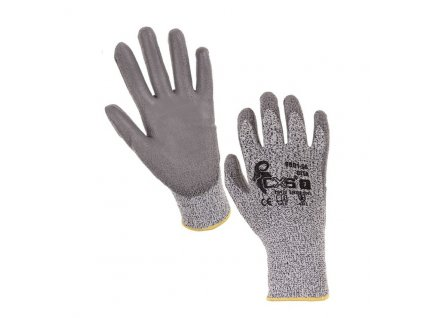 """Protipořezové pracovní rukavice CITA, šedé, 10"""""""