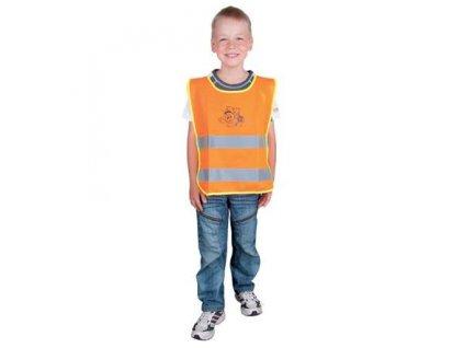 Dětská reflexní vesta ALEX oranžová