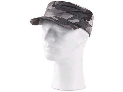Čepice VENATOR, černo-šedá (maskáčová), UNI