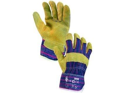 Kombinované rukavice ZORO, vel.9