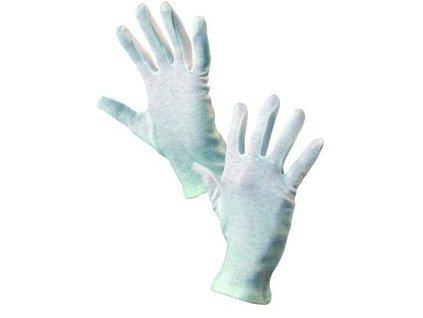 Textilní rukavice FAWA, bílé, vel.10