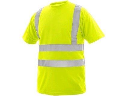 Tričko LIVERPOOL, výstražné, pánské, žluté
