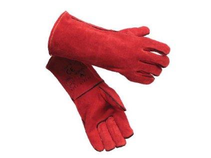 Svářečské rukavice RHINOweld GL016, vel.11, červené