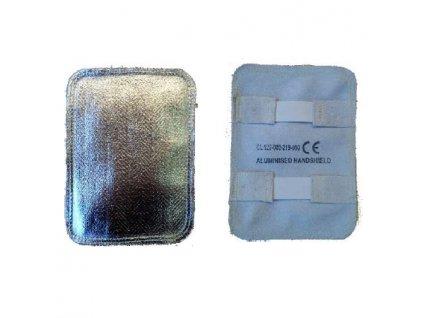 Kožený štít na ruku potažený hliníkovou fólií, Heat Shield, GL127, RHINOweld