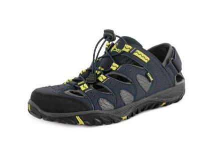 Obuv sandál ATACAMA, modro-žlutý