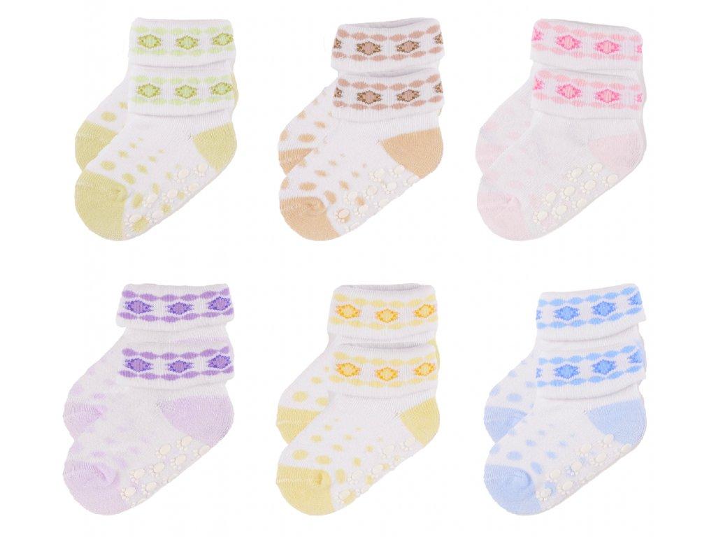 protiskluzové ponožky, 3 ks v balení, Ashton, set