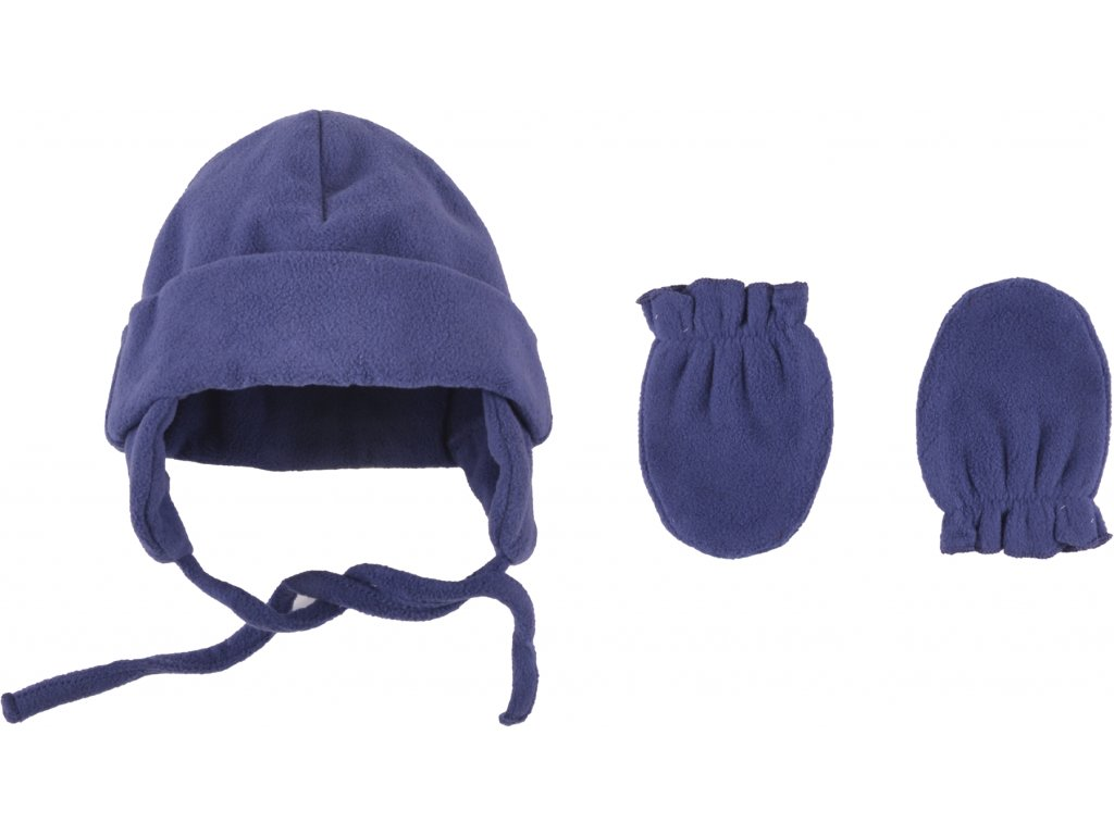 Kojenecká fleecová zimní čepice a rukavičky, Max2