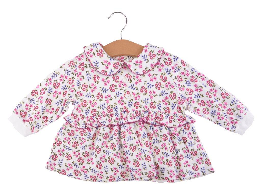 Bavlněné kojenecké šaty