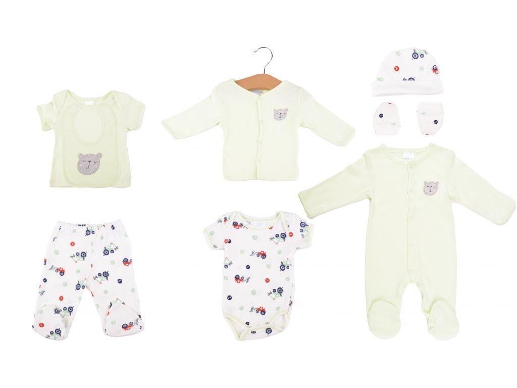 Bavlněný kojenecký set, Happybear new