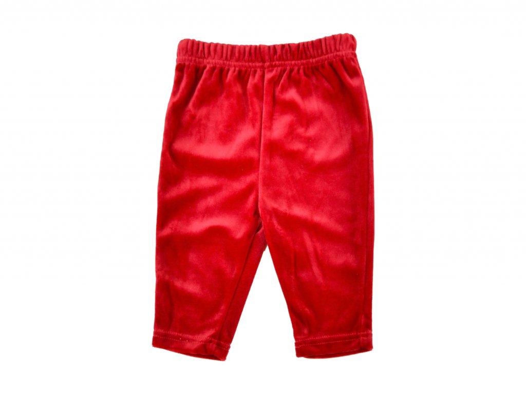 Sametové legíny, kalhoty