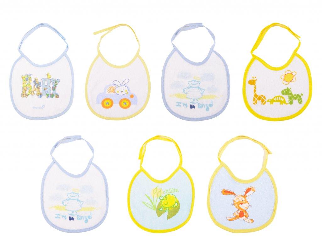 Bavlněné kojenecké bryndáčky Andy
