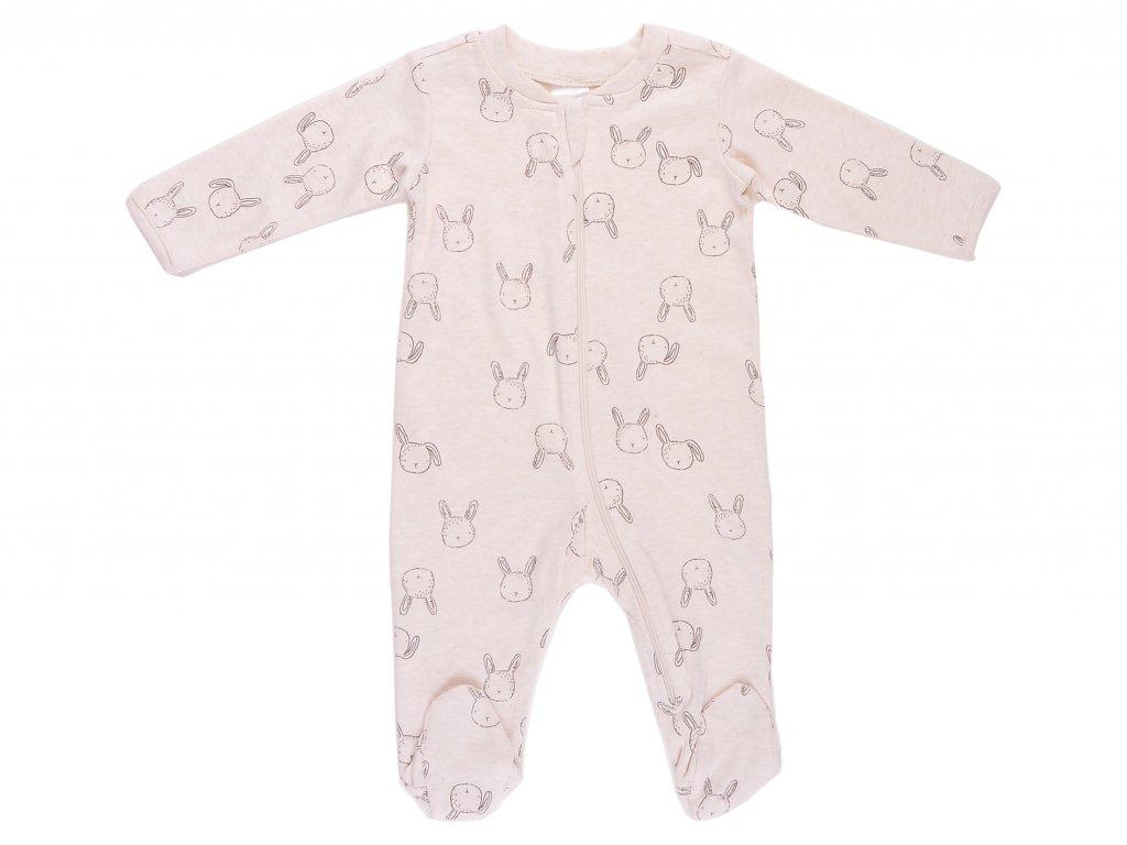 Bavlněný kojenecký overal, se zipem, Corinna