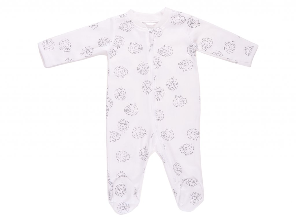 Bavlněný kojenecký overal, na zip, Wilde