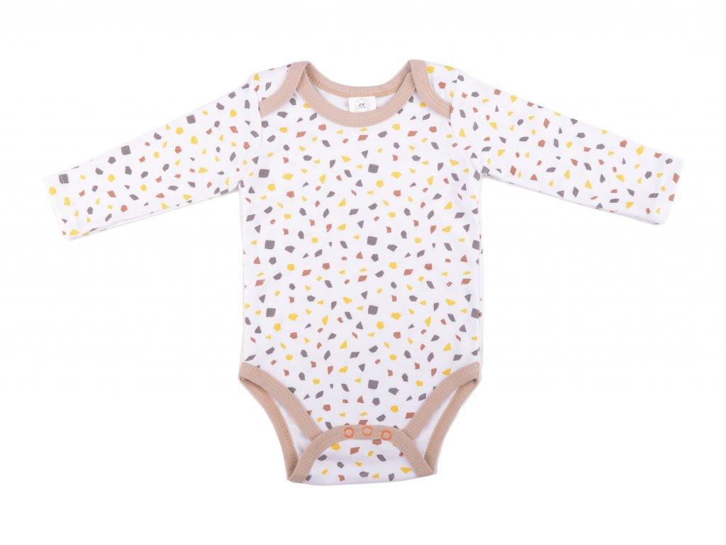 Bavlěné kojenecké body, Graham, hnědá