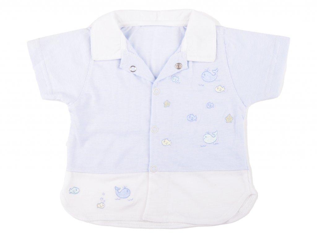 Bavlněná kojenecký košile, James