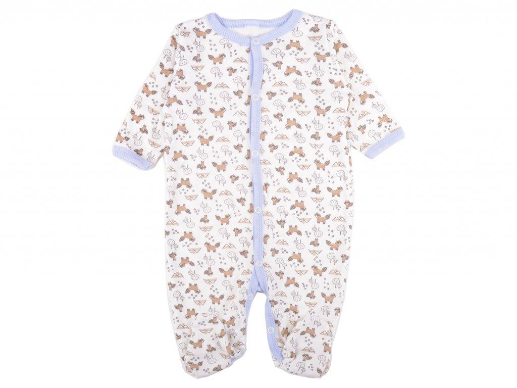 Bavlněný kojenecký overal, Caspien, panda