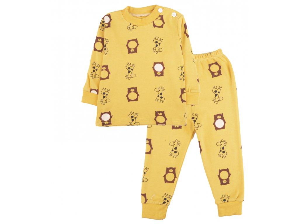 Bavlněné pyžamo, dětské, medvídek, celek