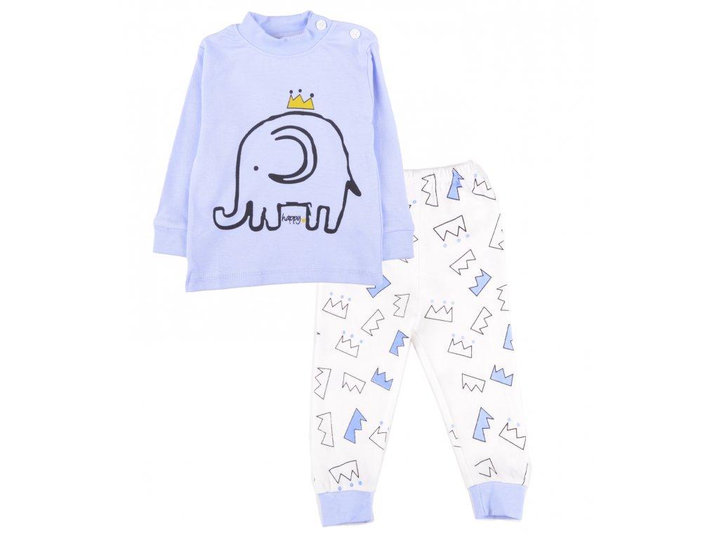Bavlněné pyžamo, dětské, sloník
